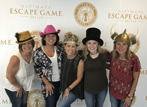 ashly cothern team dallas ultimate escape game