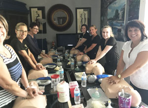 ashly cothern team learning cpr